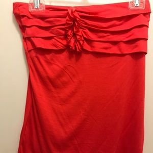 The Limited Red Halter Top - Small